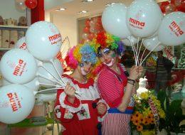 Palyaço Etkinliği Baskılı Balon Dağıtımı İzmir Organizasyon