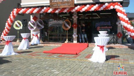 Milas Fındıkçıoğlu Açılış Organizasyonu Bistro Masa Kiralama İzmir Organizasyon