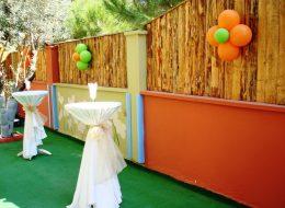 Bistro Masa ve Balon Süsleme İzmir Organizasyon