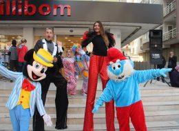 Tahta Bacak Gösterisi ve Eğlenceli Palyaço Ekibi ile Açılış Organizasyonu