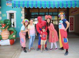 Spiderman ve Minnie Mouse Kostümlü Karakterler Kiralama Palyaço Servisi İzmir