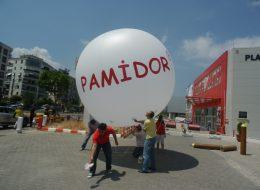 İzmir Pamidor Açılış Organizasyonu Zeplin Balon İzmir Organizasyon