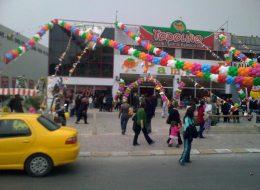 İzmir Zincir Balon Süsleme İzmir Organizasyon