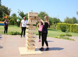 Dev Jenga Kiralama İzmir Piknik Organizasyonu