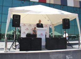 Mağaza Açılış Organizasyonu Ses Sistemi ve Profesyonel Sunucu Kiralama İzmir