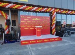 Zincir Balon Süsleme ve Ses Sistemi Temini Açılış Organizasyonu