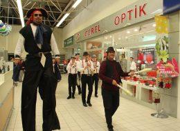 Jonglör ve Tahta Bacak Gösterisi İzmir