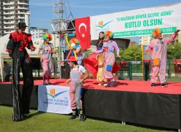 Şenlik Organizasyonu Tahta Bacak Gösterisi İzmir