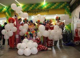 Baskılı Balon Dağıtımı ve Animasyon Ekibi Kiralama İzmir
