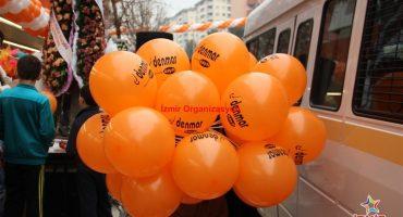 Denmar Açılış Organizasyonu Baskılı Balon Dağıtımı İzmir Organizasyon
