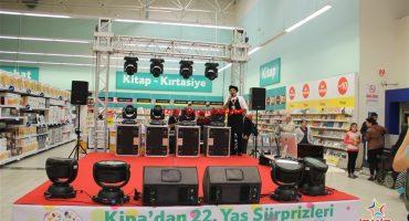 Kipa Yıl Dönümü Etkinlikleri Sahne ve Ses Sistemi Kiralama İzmir Organizasyon